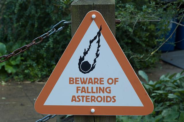 Falling Asteroids
